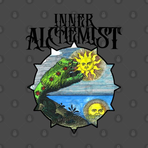 Inner Alchemist - Green Lion Alchemy vintage design