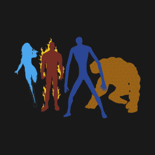 Silhouettes of a Fantastic 4