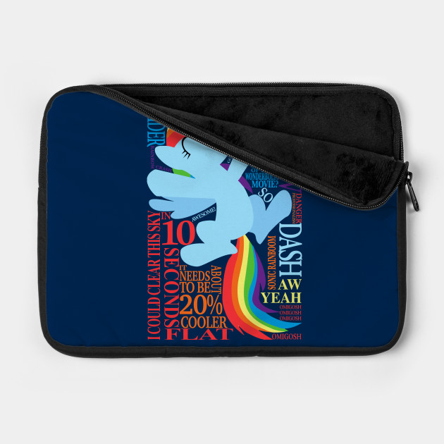 Many Words of Rainbow Dash
