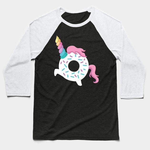 59c507426b1f Donut Unicorn Doughnicorn - Unicorn Donut - Baseball T-Shirt