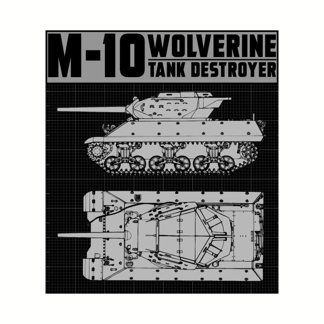 M-10 TANK DESTROYER (WOLVERINE)