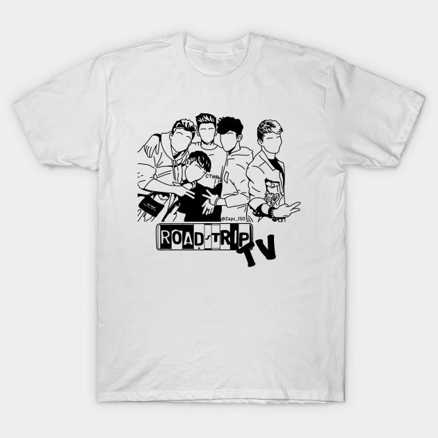Roadtriptv boyband roadtrip band fanart merch design for How to make t shirt art
