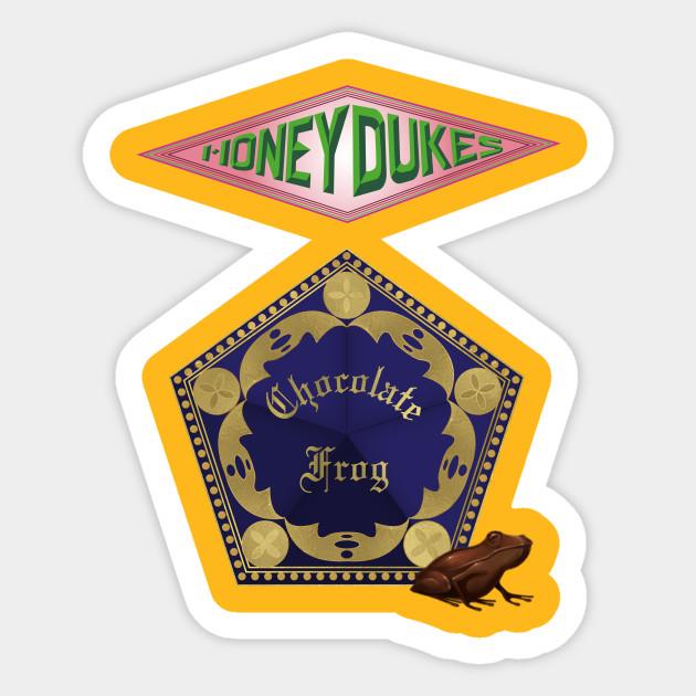 Chocolate Frog Treat - Harry Potter - Sticker