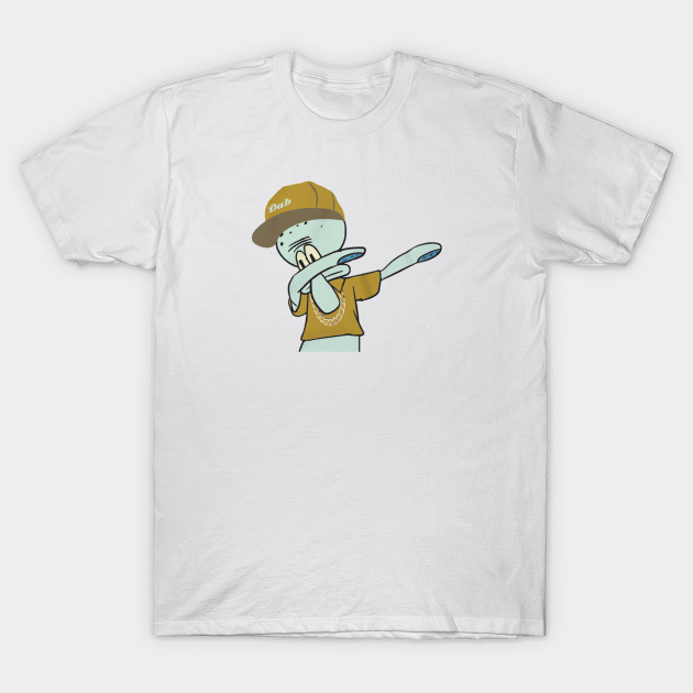 2bb130c2bba Dab On Em Squidward - Spongebob Squarepants Sports - T-Shirt