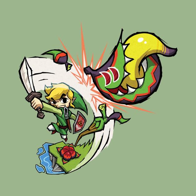 Zelda Wind Waker Boko Baba
