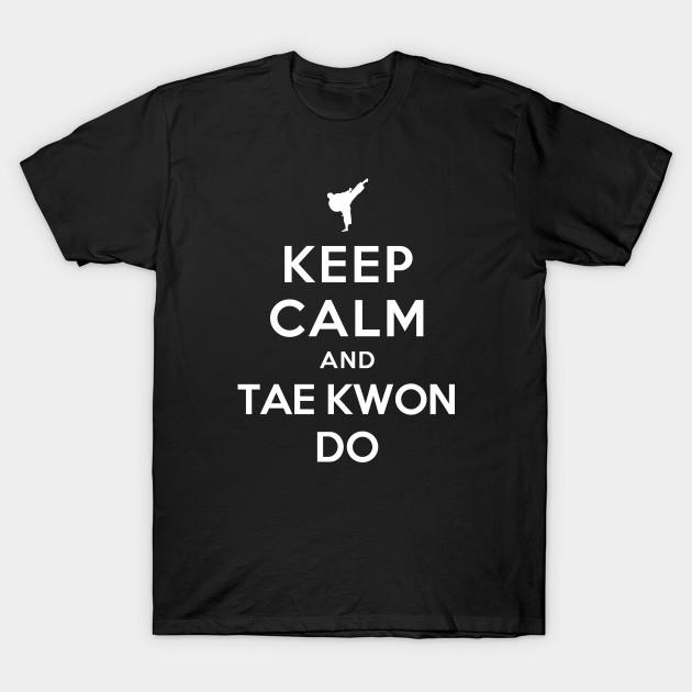 Men's Clothing Keep Calm And Love Taekwondo Martial Arts Artist Korea Fighter Novelty T-shirt