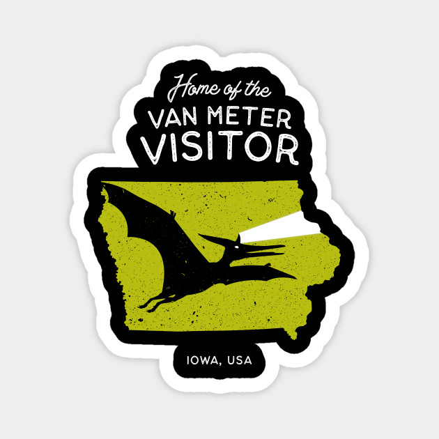 Home of the Van Meter Visitor   Home State Cryptids Collection