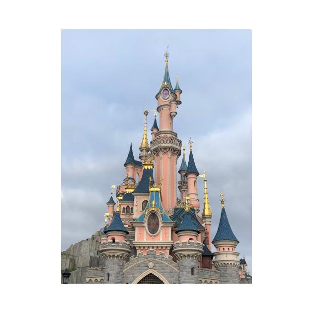 Paris Sleeping Beauty Castle