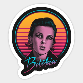 Eleven Stranger Things Stickers  e8284d73fca4