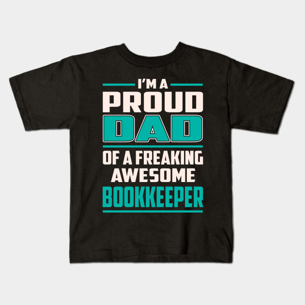 Proud to Be A Bookkeeper Shirt Clothing Tee Shirt