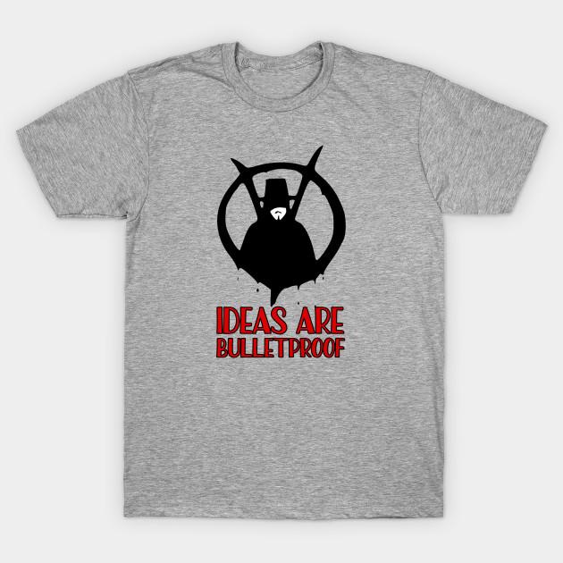V For Vendetta T-Shirt Tee