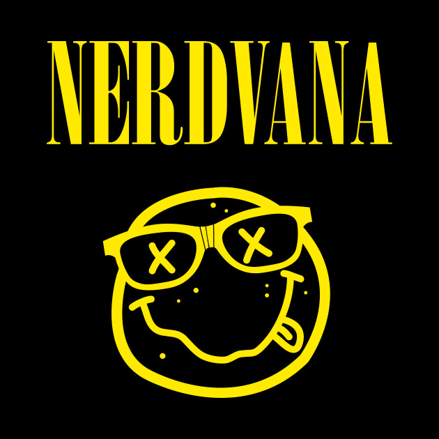 NERDVANA - Nirvana - Phone Case | TeePublic