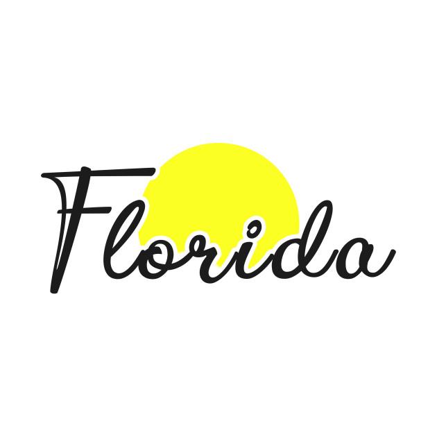 Florida Nice Script Summertime Sunshine Florida Is Calling