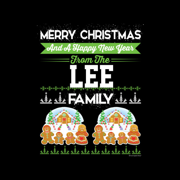 Merry Christmas And Happy New Year The Lee Famil