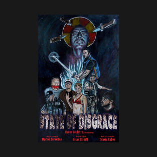 State of Disgrace Season 2 Promotional Art t-shirts