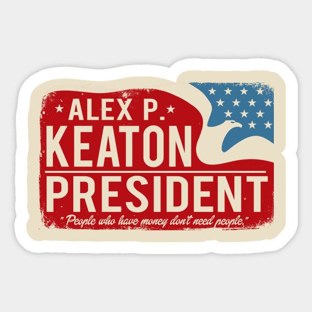 Keaton YOUNG REPUBLICANS CLUB T-Shirt All Sizes FAMILY TIES Alex P