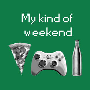 My kind of weekend - xbox gaming t-shirts