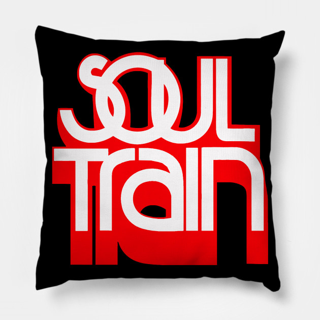 Soul Train Red Logo Soul Train Pillow Teepublic