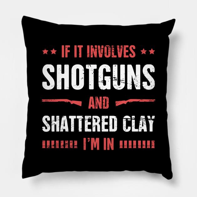 Shotguns And Shattered Clay - Skeet Shooting
