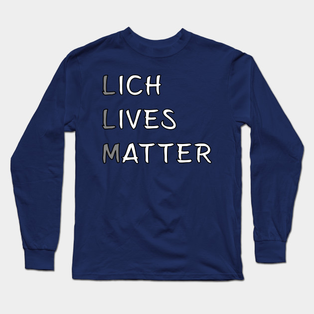 Lich Lives Matter Meme DND 5e Pathfinder RPG Role Playing Tabletop RNG by  rayrayray90