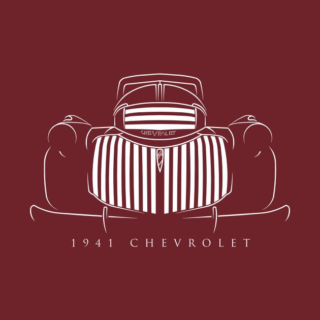 1941 Chevy Pickup - Stencil