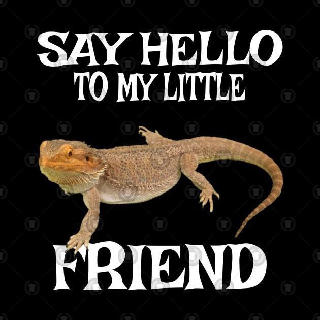 Funny Bearded Dragon Tshirt Lizard Reptile Pet Dragon Gift