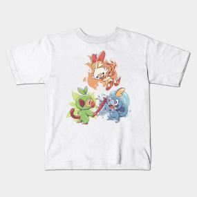 75ec2cac Galar Region Kids T-Shirts   TeePublic