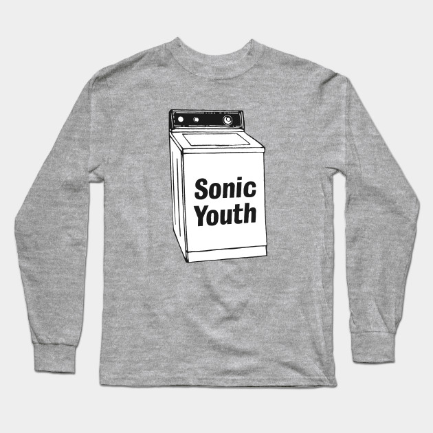 e38f1d0a8 Sonic Youth - Whashing Machine - Sonic Youth - Long Sleeve T-Shirt ...