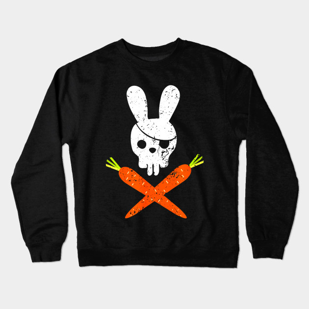 4ce592d3ee Funny Rabbit Shirt Pirate Easter TShirt for Boy and Girl.png Crewneck  Sweatshirt