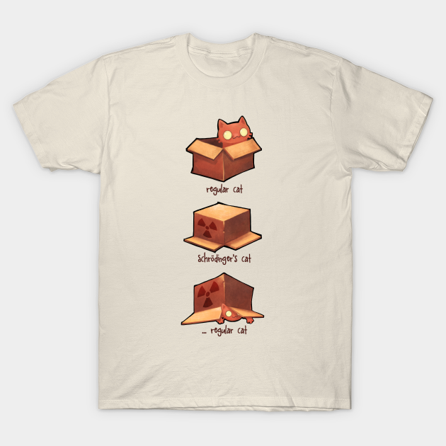 Schrodinger's Cat Wanted Dead And Alive T-Shirt 6 Dollar Shirts
