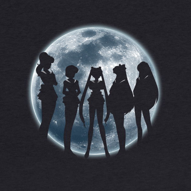 Sailor Moon silhouettes