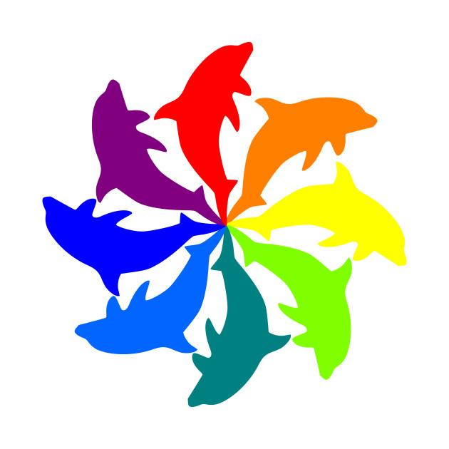 Dolphin Color Wheel