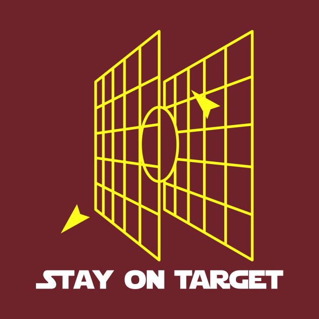 db3e2c7af8ab Stay on Target - Millennium Falcon Targeting System - Star Wars - T ...