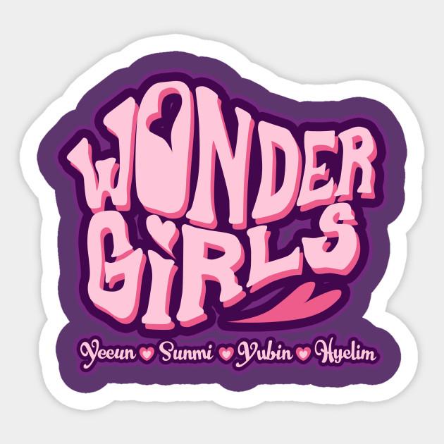 wonder girls wonder girls sticker teepublic