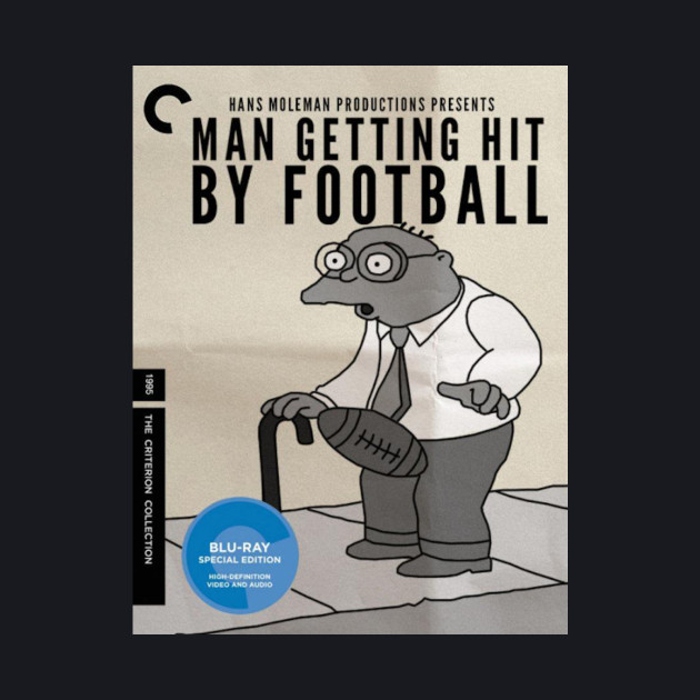 Man Getting Hit By Football
