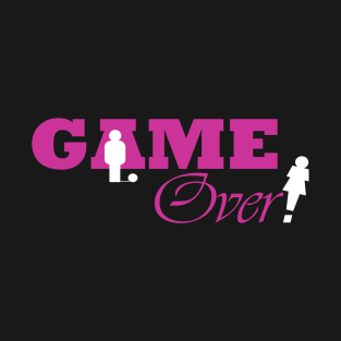 Game Over pink t-shirts