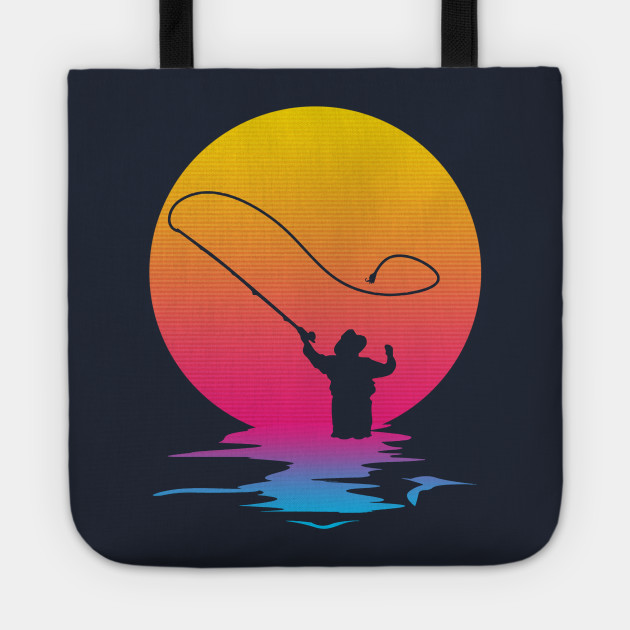 Vintage Retro Fishing Gift Fisherman