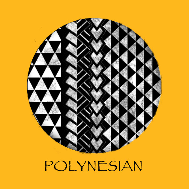 Polynesian Print 6 - Polynesia - T-Shirt | TeePublic