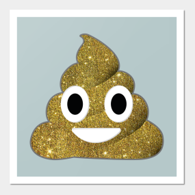 Poo Emoji Posters And Art Prints Teepublic