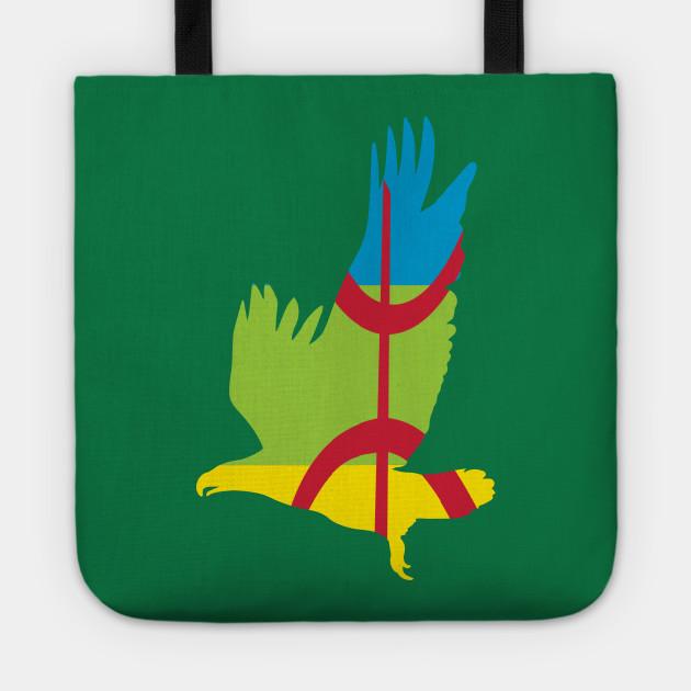 Amazigh Flag Eagle Patriotic
