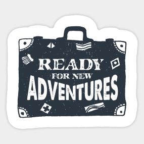 suitcase stickers teepublic