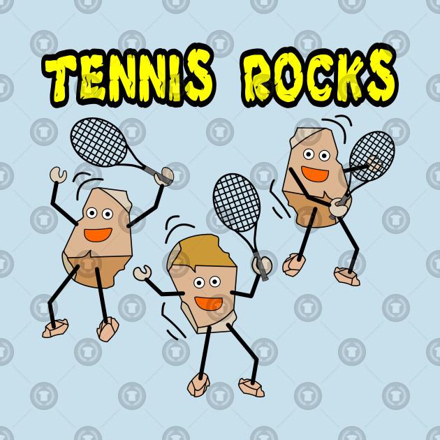Tennis rocks