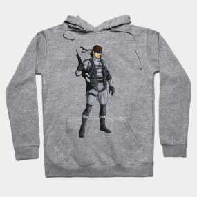 e51d9ef9e Metal Gear Solid 2 - Solid Snake Hoodie