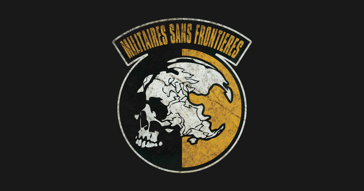 militaires sans frontières (distressed) - metal gear solid - msf