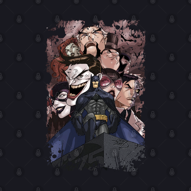 Batman And His Rogues Gallery