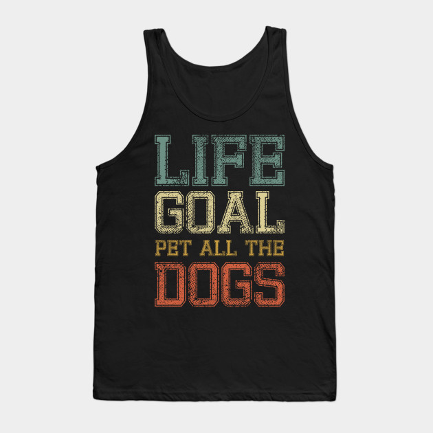 Dog Lover Pet Dogs Shirt Love Dogs Cute Dog Puppy Dog Mom Vintage Dog Design gift Tank Top