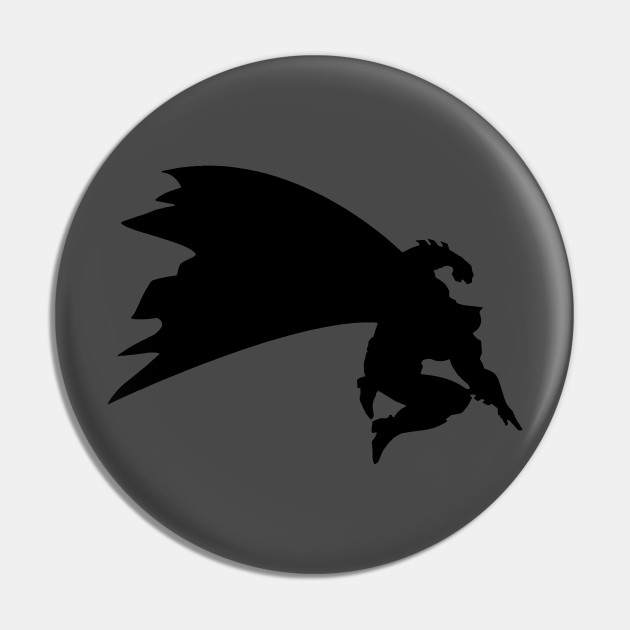 The Dark Knight Returns - Batman Silhouette