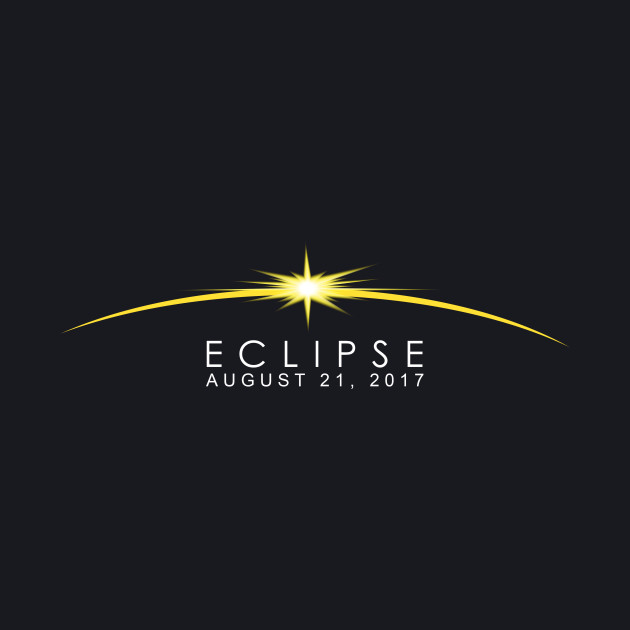 Classic Solar Shirt Eclipse commemorative design for 2017