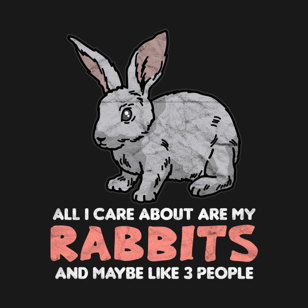 All I Care About Are My Rabbits And Maybe Like 3 People