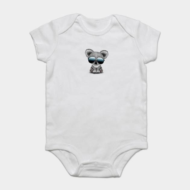 031e8bb356e Cute Baby Koala Bear Wearing Sunglasses - Baby Koala - Onesie ...